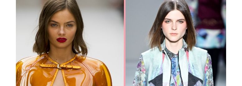 Duelo de penteados: Chanel formal versus Chanel wavy